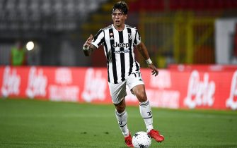 MONZA, ITALY - July 31, 2021: Luca Pellegrini of Juventus FC in action during the Luigi Berlusconi Trophy football match between AC Monza and Juventus FC. Juventus FC won 2-1 over AC Monza. (Photo by Nicolò Campo/Sipa USA)