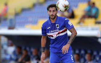 Italian defender Nicola Murru of UC Sampdoria during the Serie A match at Stadio Ennio Tardini, Parma. Picture date: 19th July 2020. Picture credit should read: Jonathan Moscrop/Sportimage via PA Images