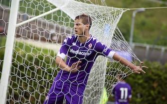 Moena (TN), ITALY - 29 JULY 2021: Aleksandr Kokorin of ACF Fiorentina during the friendly match between ACF Fiorentina and US Levico Terme at Campo Benatti. Angela Krasniqi/Medialys Images/Sipa USA