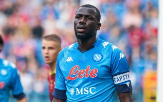 Kalidou Koulibaly of SSC Napoli seen during the Pre-Season Friendly match between Wisla Krakow and SSC Napoli at City Stadium in Krakow.(Final score; Wisla Krakow 1:2 SSC Napoli) - Mikolaj Barbanell / SOPA Images//SOPAIMAGES_SOPA014128/2108141204/Credit:SOPA Images/SIPA/2108141210