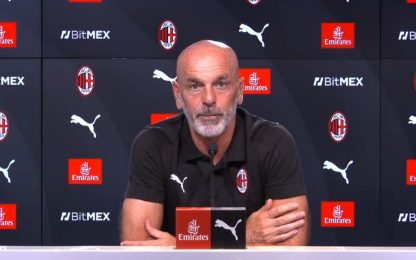 """Pioli: """"Con la Juve Ibra e Giroud non ci saranno"""""""