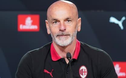 "Pioli: ""Giroud c'è, mi aspettavo questo Napoli"""