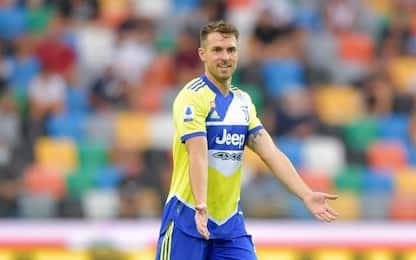 Lesione per Ramsey: rientrerà solo dopo la sosta