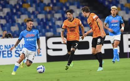 Napoli umiliato al Maradona: Benevento vince 5-1