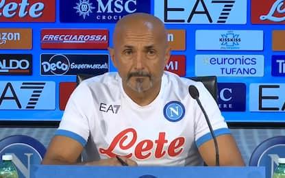 """Spalletti: """"In 7 per lo scudetto. Mertens ci sarà"""""""