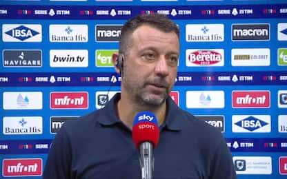 """D'Aversa: """"Grande prestazione, meritavamo di più"""""""