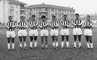 ***** Collection Juventus *****Foto Archivio storico/LaPresse01-01-1962 Torino, ItaliastoricoIl calciatore della Juventus Omar SivoriNella foto: Omar Sivori schierato con la sua scuadra