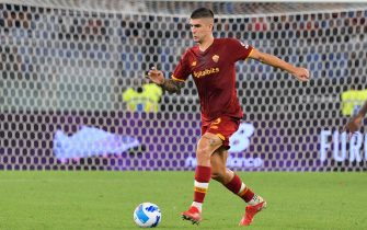 Italian football Serie A match - AS Roma vs US Sassuolo
