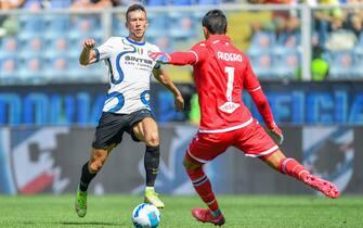 Italian football Serie A match - UC Sampdoria vs Inter - FC Internazionale