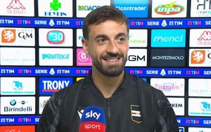 "Caputo è tornato: ""E ora mi godo la Sampdoria"""