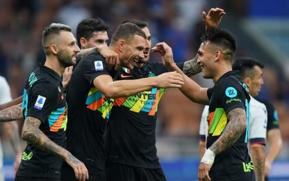 Lautaro, Dumfries e gol: l'Inter riprende la corsa