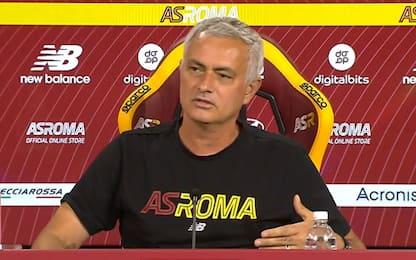 Roma-Udinese, la conferenza di Mourinho LIVE