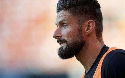 Giroud torna in gruppo: contro lo Spezia ci sarà