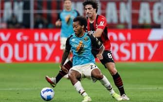 Italian football Serie A match - AC Milan vs Venezia FC
