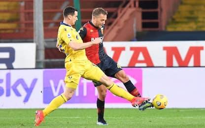 Genoa-Verona, dove vedere la partita in tv