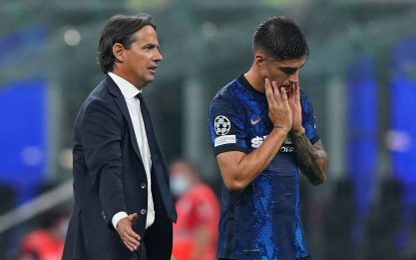 Inter-Atalanta, Inzaghi recupera Correa: probabili