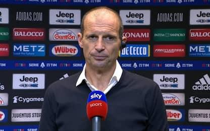 """Allegri: """"Dybala e Morata out con Chelsea e Toro"""""""