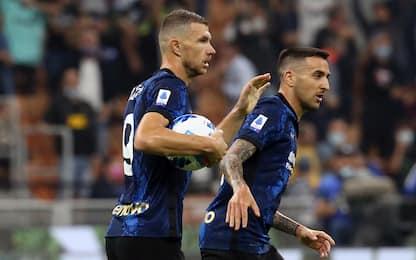 Dzeko tra i migliori bomber al debutto nell'Inter