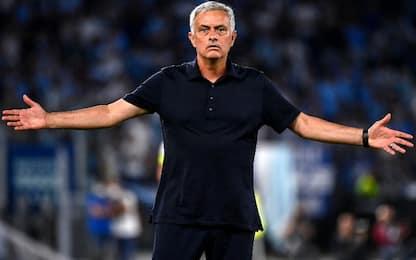 """Mourinho: """"Arbitro e Var non all'altezza"""""""