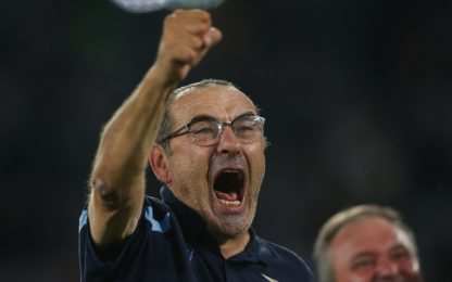 """Sarri: """"Vincere il derby, che soddisfazione"""""""