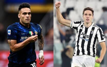 Inter-Juve, staffetta Vecino-Vidal. Torna Dybala
