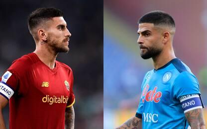 Roma-Napoli, dubbio Zaniolo. Zielinski dal 1'