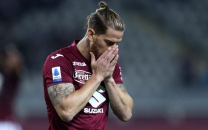 Juric perde Ansaldi: salterà Milan e Sampdoria