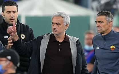 """Mourinho: """"Gara di alto livello, pareggio giusto"""""""