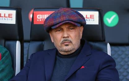 "Mihajlovic: ""La squadra sta bene, Arnautovic meno"""