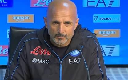 """Spalletti: """"Insigne c'è. Bologna? Sarà difficile"""""""