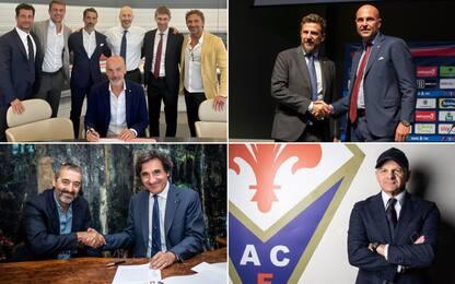 Serie A, gli allenatori per la stagione 2020-21