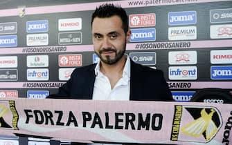 Palermo, presentazione nuovo allenatore De Zerbi