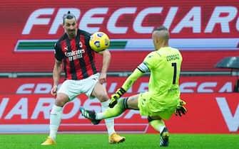 Milan vs Crotone - Serie A TIM 2020/2021