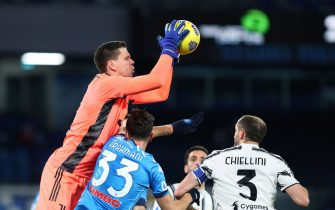 Italian football Serie A match - SSC Napoli and Juventus FC