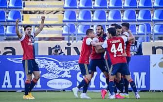Cagliari vs Roma - Serie A TIM 2020/2021