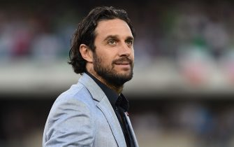VERONA, ITALY - JUNE 06:  Luca Toni looks on during the international friendly match between Italy and Finland on June 6, 2016 in Verona, Italy.  (Photo by Valerio Pennicino/Getty Images)