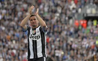 Juventus vs Sampdoria - La Premiazione