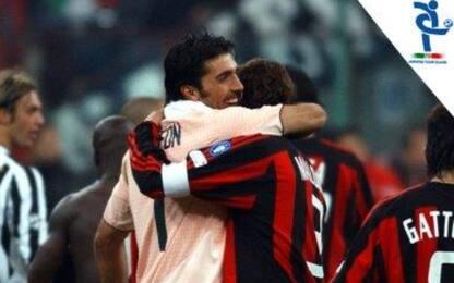 Presenze in A, Buffon agguanta Maldini al 1° posto