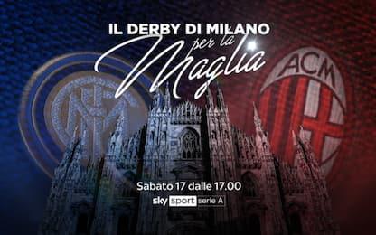 Inter-Milan, le maglie storiche del derby. FOTO
