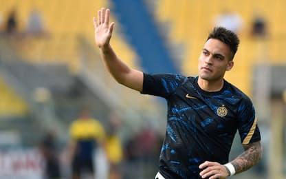 Lautaro con Dzeko: le probabili di Samp-Inter