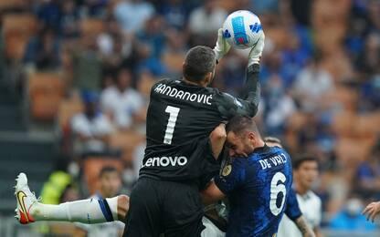 Show a S. Siro, Inter-Atalanta 2-2. Dimarco spreca