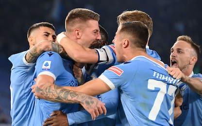 La Lazio ribalta 3-1 l'Inter, primo ko per Inzaghi