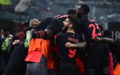 Milan di rimonta, da 0-2 a 3-2: Verona battuto