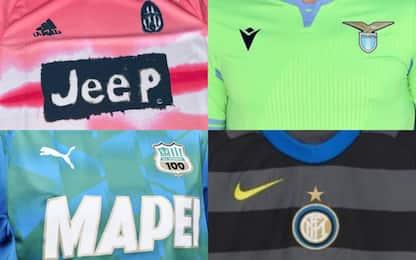 Le maglie della Serie A 2020-2021. FOTO
