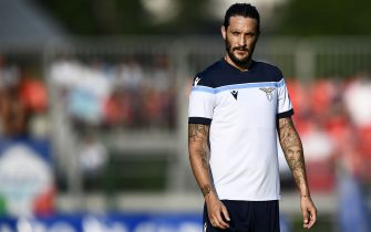AURONZO DI CADORE, ITALY - July 23, 2021: Luis Alberto of SS Lazio looks on during the pre-season friendly football match between SS Lazio and US Triestina. SS Lazion won 5-2 over US Trientina. (Photo by Nicolò Campo/Sipa USA)