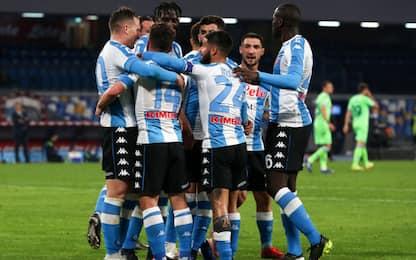 Super rimonta Napoli, è 2° nel girone di ritorno