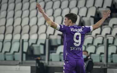 Torino. Partita di Lega serie A Tim 2020/2021. Juventus Vs Fiorentina. Allianz Stadium