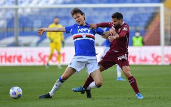 ALBIN EKDAL (Sampdoria), Tomas Rincon (Torino)