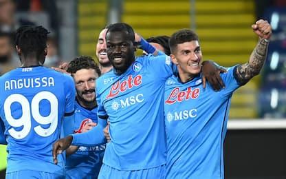 Napoli, difesa super: in 9 casi su 20 fu scudetto