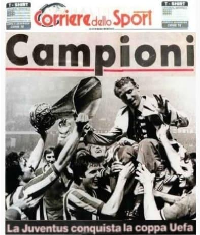 Juve vittoriosa in Coppa Campioni